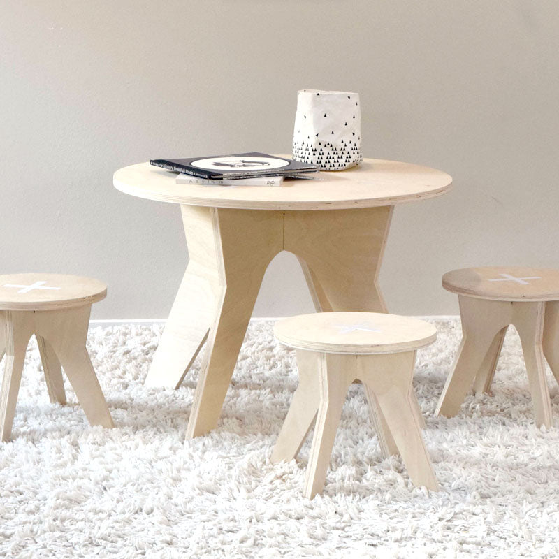 Finlay Table and Stool Set (2 stools) – PlayHouse Design