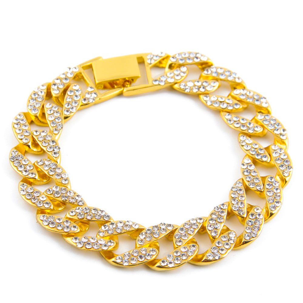 solid original golden miami bracelet products lab diam design icy silver diamond image link tone men cuban