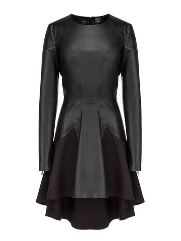 Donna Leather Dress