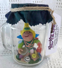"Faery. ""Button Faery"".Decorative only. Does not require food or water. (116BTFJ)"