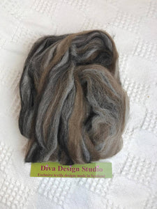 Fleece. Shetland Mix pack. Diva Design. 50g (39NSM)