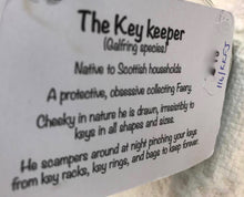 "Faery. ""The Key Keeper Faery"".Decorative only. Does not require food or water. (116KKFJ)"