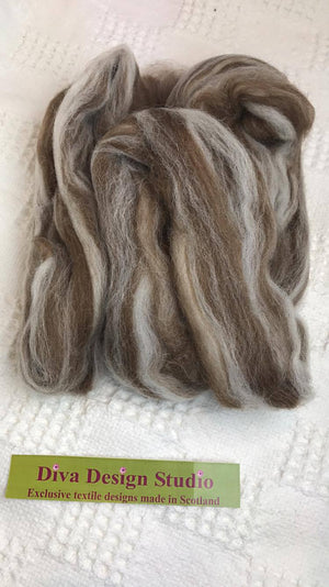 Fleece. Shetland Humbug fleece mix pack. Diva Design. 50g (39NSH)