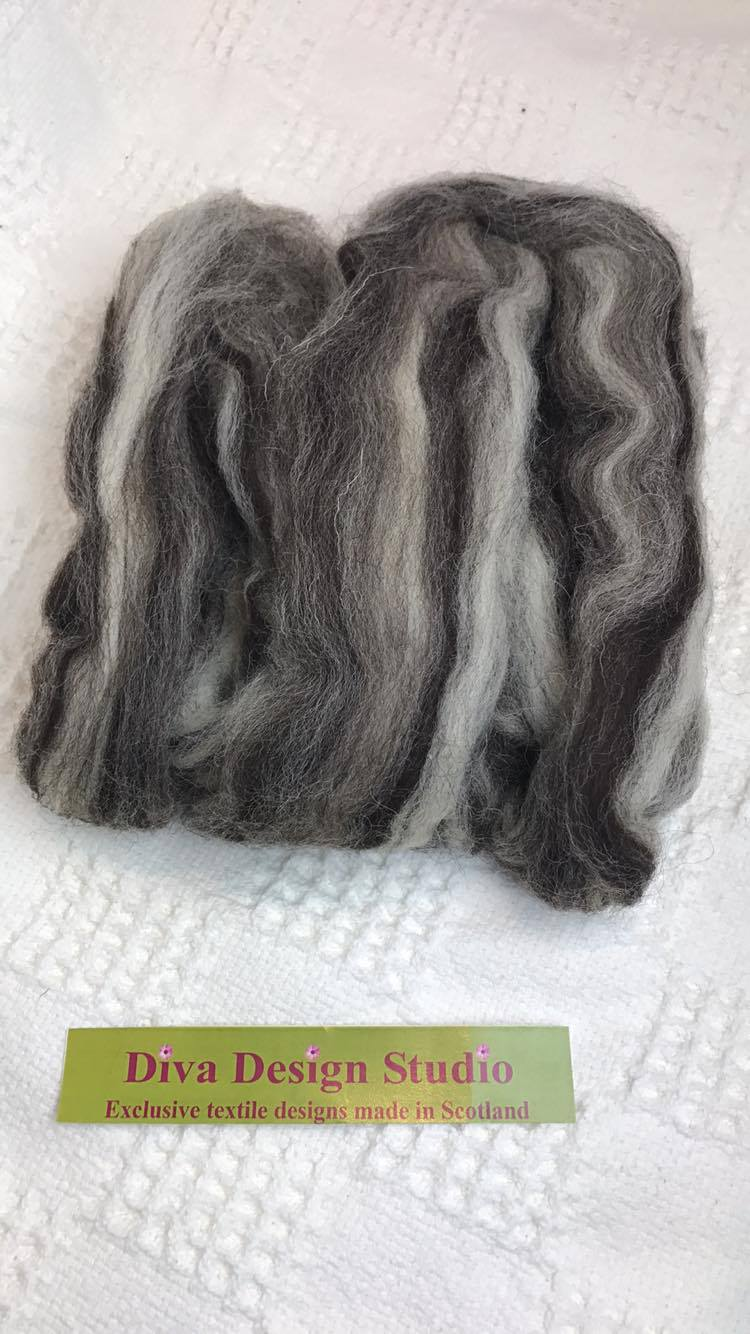 Fleece. Jacob Mix pack. Diva Design. 50g (39NJ)