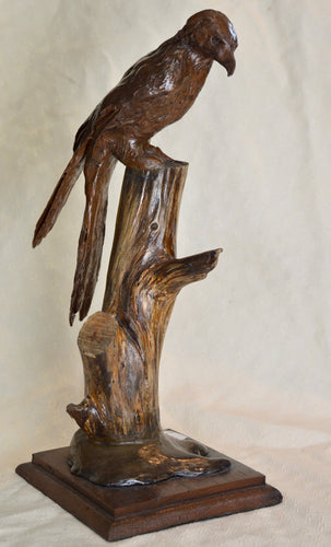 Sculpture. Redkite, cold-cast resin with copper. By Gleed 3D.(32SG3)