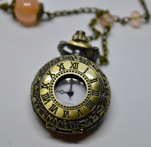 Necklace. With traditional time-piece. Steam Punk Jewellery from Countless Crafts. WN9