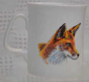 "Mug. ""Fox"" by Between The Woods & Sea. (91M3)"