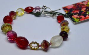 Bracelet. Bead bracelet by Bowerbird Jewels. (15BR1)
