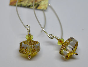 Earrings. Bead earrings by Bowerbird Jewels. (15EAR25)