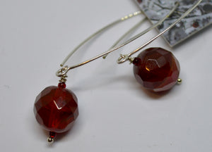 Earrings. Bead earrings by Bowerbird Jewels. (15EAR3)
