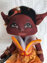 "Doll. Handmade Decorative fantasy doll. ""Ember"". (128EMBER)"