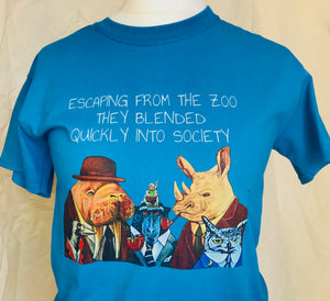 Escaping from the zoo...Tshirt.