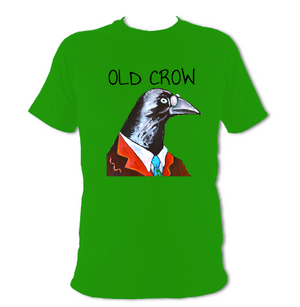Old Crow T-shirt.