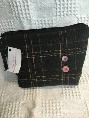 Tweed toilet bag 6ASX21