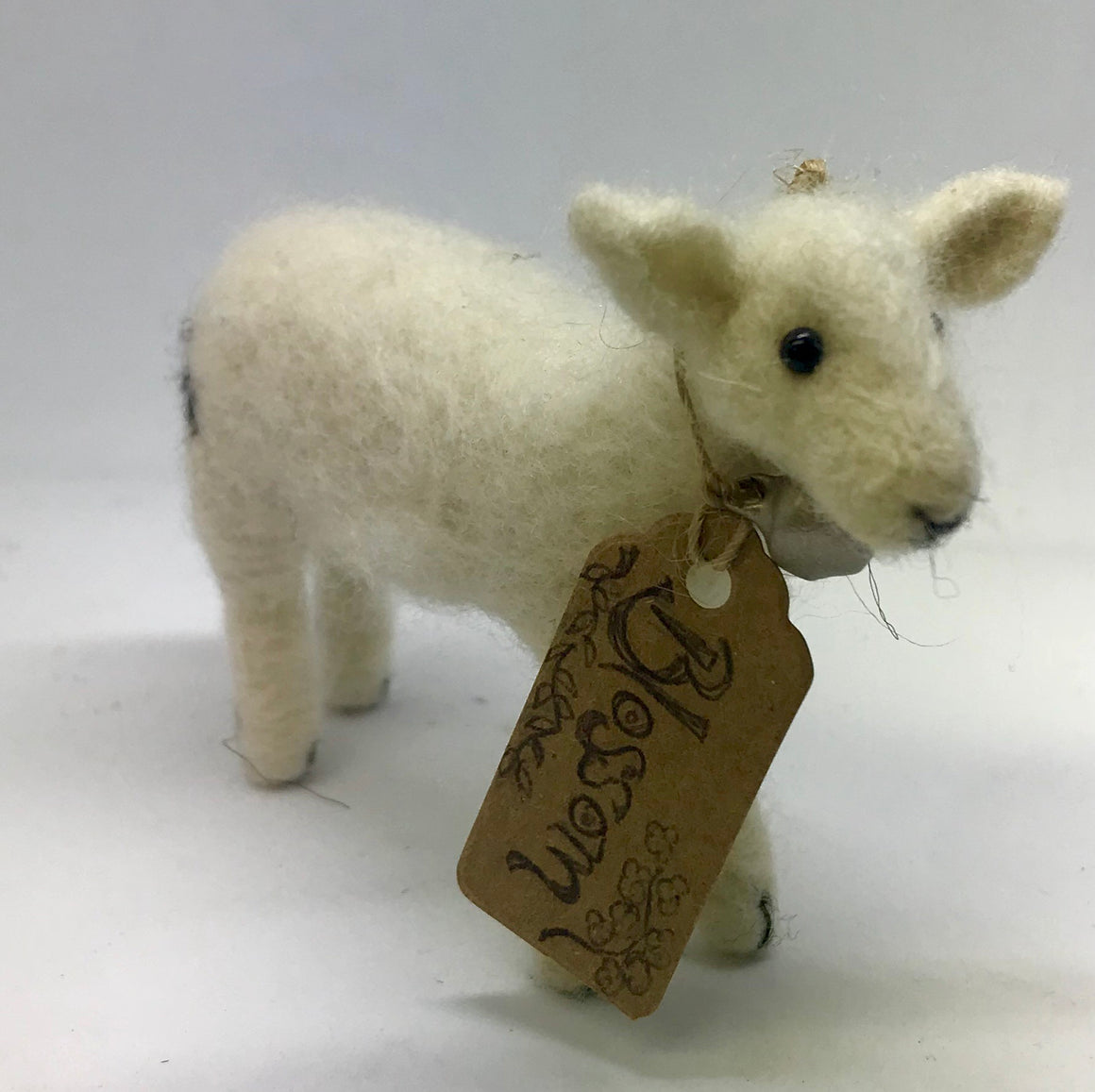 Blossom. Needle felted lamb.