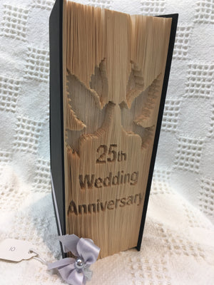 Book fold 25tg wedding anniversary