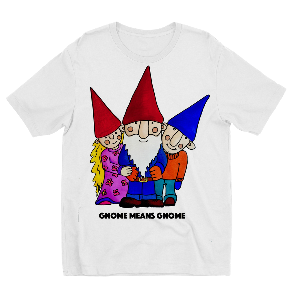 Kids TShirt. Gnome means gnome.