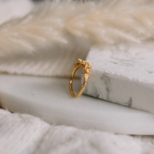 Gold Bumble Bee Ring