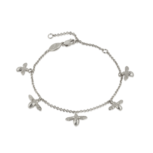 Baby Bees Bracelet Silver