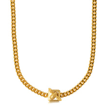 Bee Fastener Chain Necklace