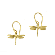 Dragonfly dangly earrings