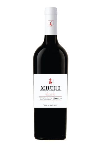 MHUDI Family Boutique Pinotage 2015 x 6
