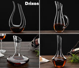 Various Crystal Wine Decanters - Amazing Designs