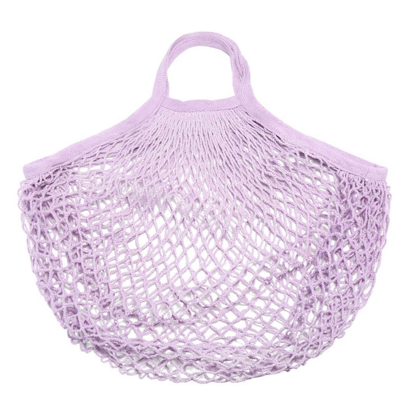 Cotton Net Bag - Purple