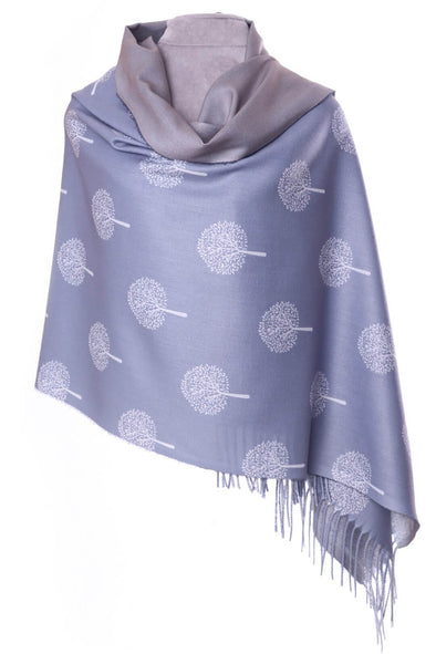 Mulberry Pashmina - Grey