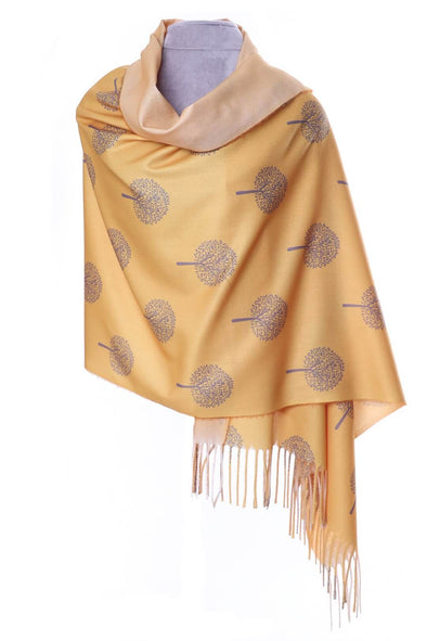 Mulberry Pashmina - Yellow