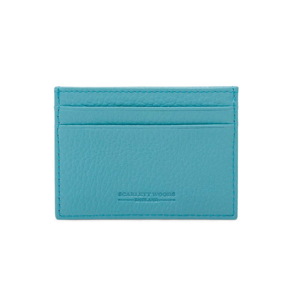 Slim Credit Card Holder - Blue