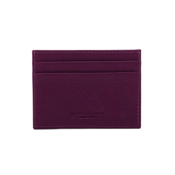 Slim Credit Card Holder - Matt Purple