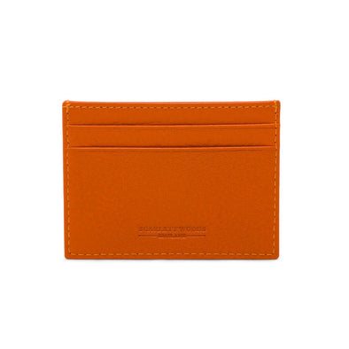 Slim Credit Card Holder - Orange