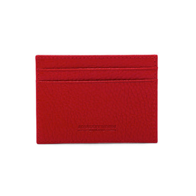 Slim Credit Card Holder - Red