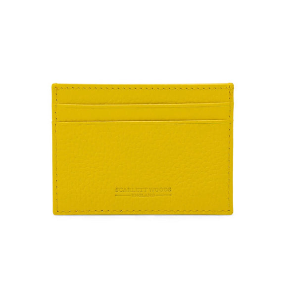 Slim Credit Card Holder - Yellow
