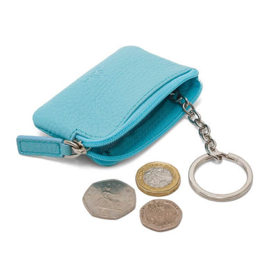 Coin & Key Purse - Blue