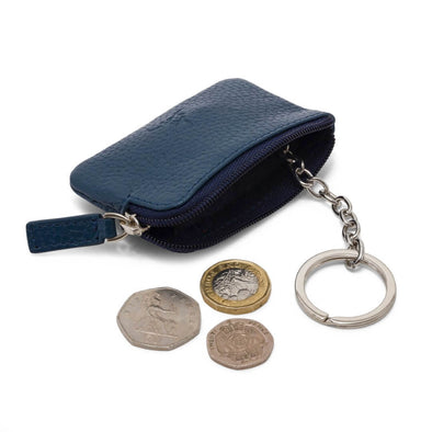 Coin & Key Purse - Navy