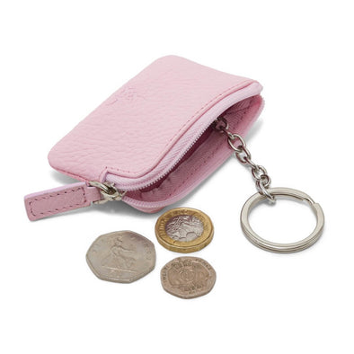 Coin & Key Purse - Pink