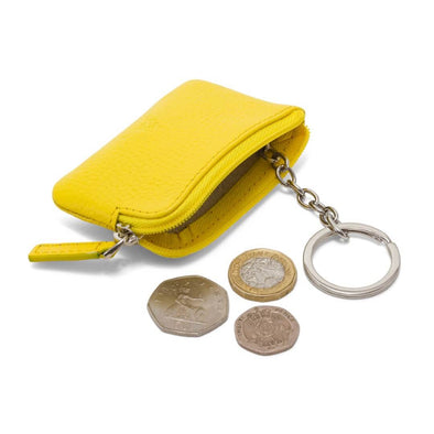 Coin & Key Purse - Yellow