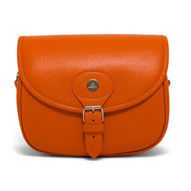 The Cartridge Handbag - Orange - Scarlett Woods