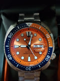 Made in Japan Seiko Prospex Orange Turtle SRPC95/SRPC95J1 Asia Limited Edition