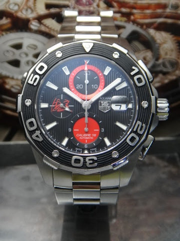 Tag Heuer AQUARACER AIR-K1 500M Calibre16 Chronograph Automatic Men Watch JapanTED EDITION 300PCS