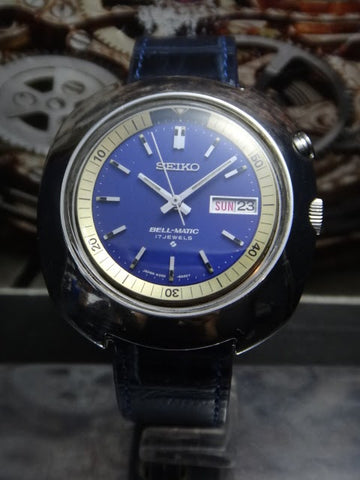 Seiko Vintage Bellmatic Turtle Case Watch