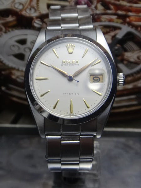 Rolex 1959 Oysterdate Precision 6694 Winding Watch
