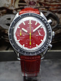 Omega Red SPEEDMASTER Chronograph Automatic Watch
