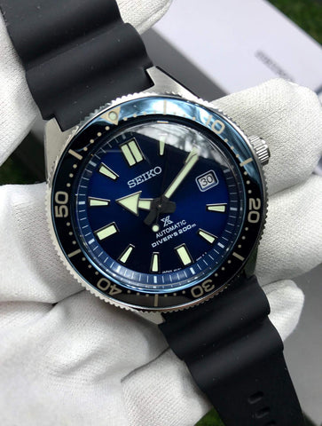 72f7c34cdb9 Seiko Prospex (Historical Collection Blue) 200M Diver Automatic SBDC053 Made  in Japan