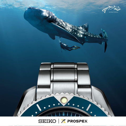 Seiko Zimbe No.7 SLA027 Marinemaster 300M Limited Edition 428Pcs