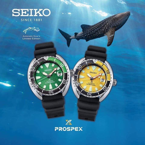 Seiko Prospex Zimbre No.10 Mini Turtle SRPD17K & SRPD19K Limited Edition 999Pcs Each