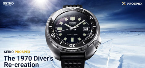 New 2019 Seiko The 1970 Diver's Re-creation SLA033J1 Limited Edition 2500Pcs
