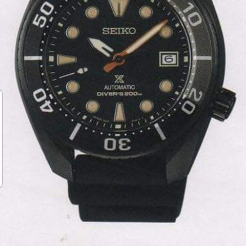 Year 2020 New Seiko Prospex Blackie Sumo SPB125J/SBDC095 Limited Edition 7000pcs